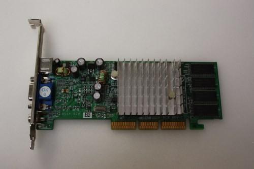 Leadtek WinFast A340T GeForce FX5200 128MB AGP VCD w/TV