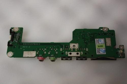 Acer Aspire One Zg5 Usb Audio Card Reader Board