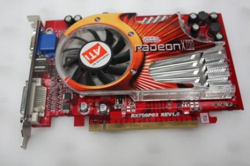 Download Driver: AMD Radeon X700 XT Graphics