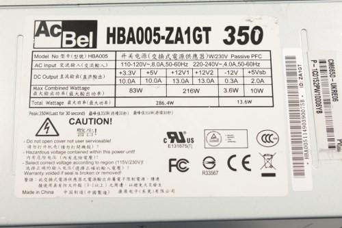 AcBel HBA005-ZA1GT 350W ATX PSU Power Supply