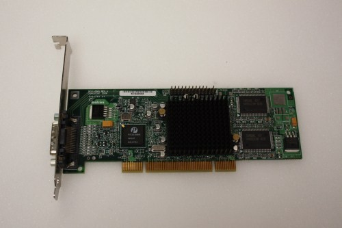 DUAL MONITOR MATROX G55MDDAP32DB G550 32MB PCI GRAPHICS CARD