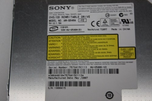 Sony dvd rw aw g540a ata driver download.