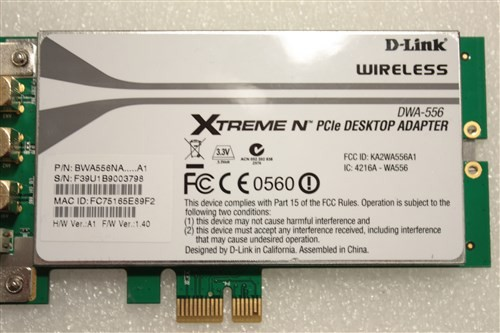 D-LINK DWA-556 XTREME DRIVERS UPDATE