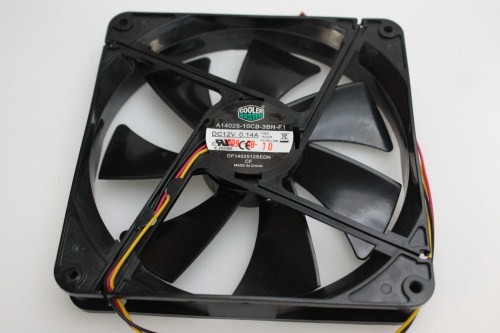 Cooler Master Case Cooling Fan 3 Pin A14025 10cb 3bn F1
