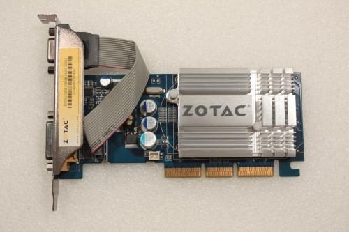 Zotac GeForce 6200 256MB AGP DVI VGA Graphics Card