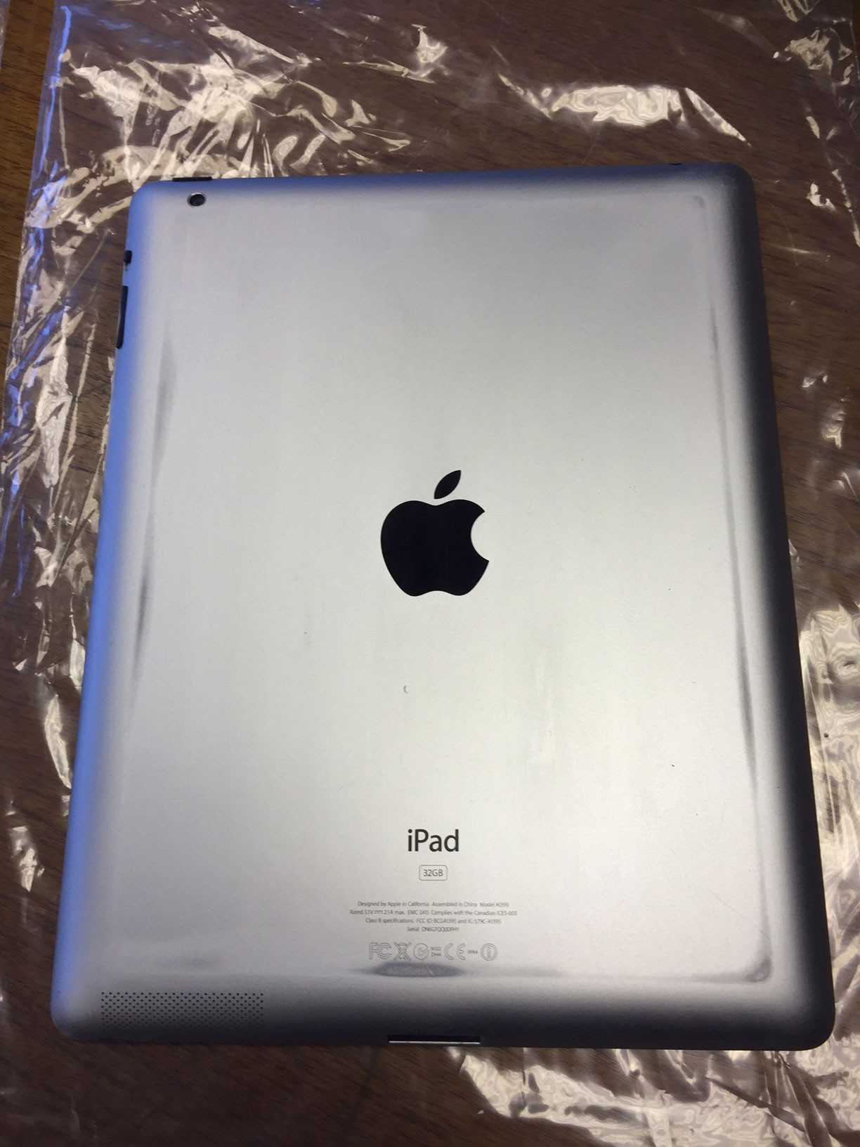 Apple Ipad 2 32gb Wi Fi 9 7 Quot Black A1395 With Free Case
