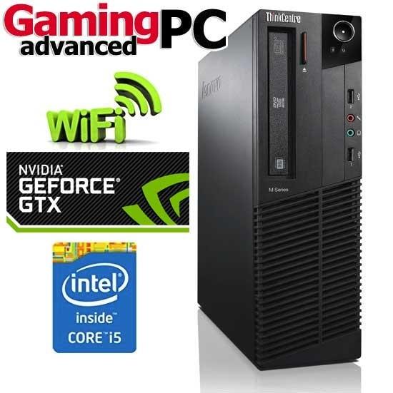 73c9617db Gaming PC Lenovo M91p Quad Core i5-2400 8GB GTX 750 Windows 10 64Bit ...