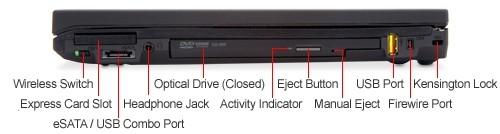 Gaming Laptop Lenovo ThinkPad T410 i5-520M 2 40GHz 4GB DVDRW nVidia Quadro  NVS 3100M WiFi Windows 7 Professional