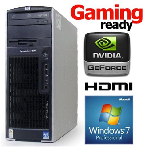 HP XW6600 Workstation Xeon Quad-Core E5450 3.0GHz 4GB 320GB Windows 7  Professional 64bit ... fcaf76882470