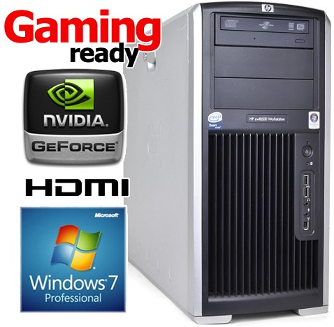 HP XW8600 Workstation 2x Quad-Core E5430 (21 28GHz) 8GB Windows 7  Professional 64bit