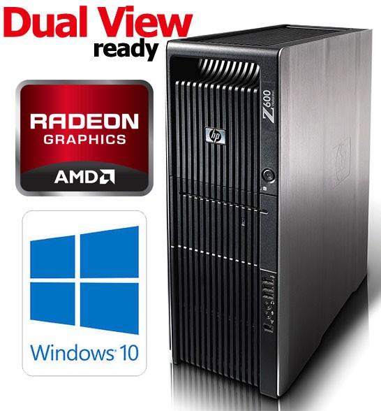 HP Z600 Workstation Six-Core X5670 6GB DDR3 300GB Windows 10 Professional  64bit