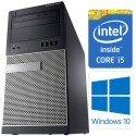 Dell OptiPlex 7010 MT 3rd Gen Quad Core i5-3470 8GB 320GB DVDRW Windows 10 Professional 64-Bit Desktop PC Computer