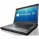 Lenovo ThinkPad T430 Laptop PC Core i5-3320M 8GB 120GB SSD DVDRW WiFi WebCam USB 3.0 Windows 10 Professional