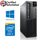Lenovo ThinkCentre M91p SFF Quad Core i5-2400 8GB RAM 250GB Windows 10 Professional 64Bit Desktop PC Computer