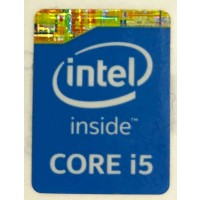 Genuine Intel Core i5 Inside Case Badge Sticker (4th Generation)