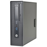 HP EliteDesk 800 G1 SFF Quad Core i5-4570 3.20GHz 8GB 500GB DVDRW WiFi Windows 10 Professional Desktop PC Computer