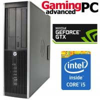 Gaming PC HP 8300 Elite Quad Core i5-3470, 8GB RAM, 1TB HDD, GeForce GTX 1050 2GB, WiFi, Windows 10 64Bit Desktop PC Computer