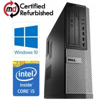 Dell OptiPlex 790 DT Quad Core i5-2400 8GB 500GB DVDRW WiFi Windows 10 Professional 64-Bit Desktop PC Computer