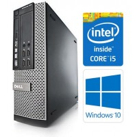 Dell OptiPlex 7010 SFF 3rd Gen Quad Core i5-3470 8GB 120GB SSD DVDRW Windows 10 Professional 64-Bit Desktop PC Computer