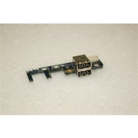 Toshiba Satellite P200 USB Port Board LS-3444P