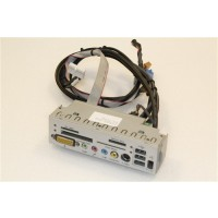 Medion PC MT6 USB Audio Video Card Reader Ports Panel MS-6982