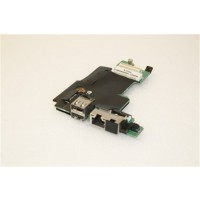 Dell Latitude E5410 USB Ethernet Ports Board FHYHD
