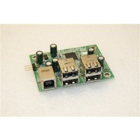 ViewSonic VP2130b USB Port Board DAL0VPUB012 Rev:A