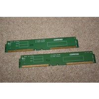 Compaq 6-Layer CRIMM Rambus Memory Continuity Card Pair 010566-001