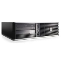 HP DC7900 SFF Core 2 Duo E7400 4GB 160GB DVDRW Windows 10 Professional Desktop PC Computer