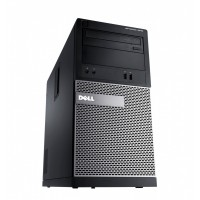 Dell OptiPlex 3020 MT Core i3-4130 8GB 500GB DVDRW WiFi Windows 10 Professional 64-Bit Desktop PC Computer