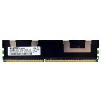 512MB PC2-5300 DDR2 DIMM 240Pin CL5 Elpida ECC Server Memory EBE51FD8AGFD-6E-E