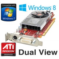 ATi Radeon HD 3450 256MB DMS-59 PCI-e Dual View Low Profile Video Card Y103D