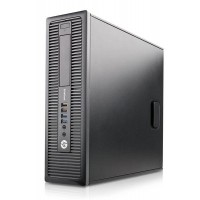 HP EliteDesk 800 G1 SFF Quad Core i5-4570 3.20GHz 8GB 120GB SSD WiFi Windows 10 Professional Desktop PC Computer
