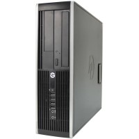 HP Elite 8300 SFF Quad Core i5-3570 3.10GHz 4GB 250GB DVD WiFi Windows 10 Professional Desktop PC Computer