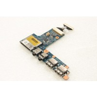 Dell Inspiron 1110 USB Audio Ports Board LS-5461