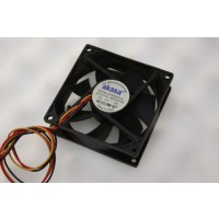 Akasa DFS802512L 3Pin Case Fan 80mm x 25mm