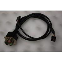 Fujitsu Siemens Scenic P300 USB Audio Panel Ports