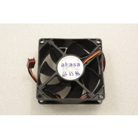 Akasa F128025SM 80mm x 25mm 3Pin Case Fan
