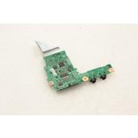 Fujitsu Siemens Lifebook T4010D Audio Ports Board CP209720-Z3