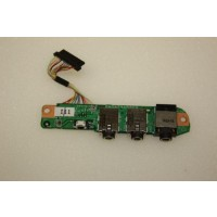HP Pavilion dv9000 Audio Ports Board DA0AT9AB8C9