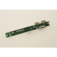 HP ProLiant ML350 G5 Server USB Power Button LED Bord 413988-001