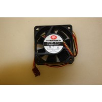 Superred CHA6012CS-A 60mm x 25mm 3Pin Case Fan