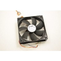 Q-Tec Cooling Case Fan 120mm x 25mm 3Pin Item no 14332