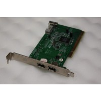 3 Port FireWire PCI Adapter Card SD010-D82