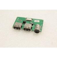 Fujitsu Siemens Amilo D7830 USB Board 35-UD4020-00C