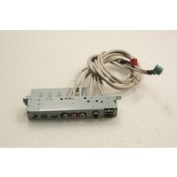 HP Compaq Presario SR1000 Front USB Audio Panel 5002-9882