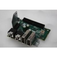 Dell OptiPlex 755 Front I/O USB Panel XW055 P8409