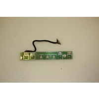 Acer Aspire 1520 Power Media Button Board Cable 48.49V02.011