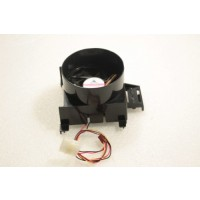 GlacialTech F128025BL 80mm x 25mm 3Pin Case Fan Shroud