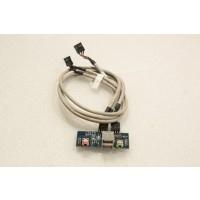 Evesham Prestige P30 USB Audio Ports Panel JOYB013E